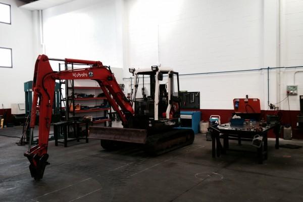 entrada primera maquina en taller 2